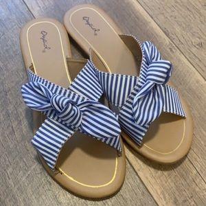 Qupid Slid On Sandals BRAND NEW